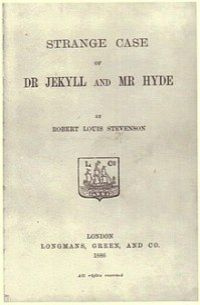 Title page of the first London edition (1886)