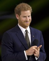Prince Harry at the 2017 Invictus Games.